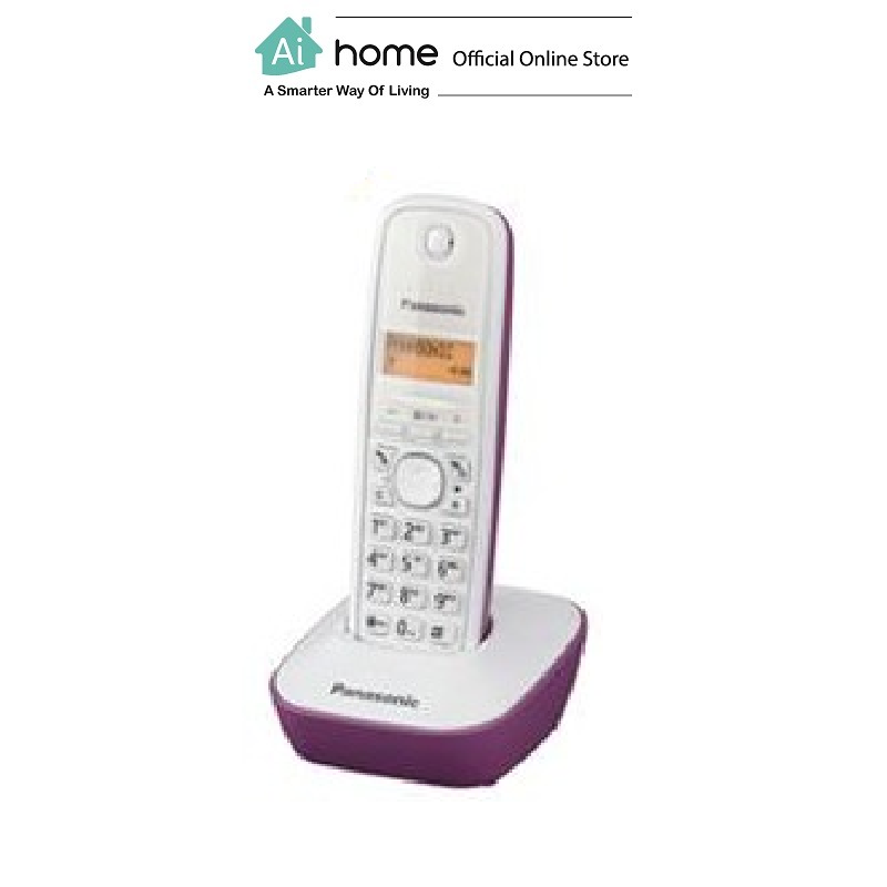 PANASONIC KX-TG1611MLH Digital Cordless Phone with 1 Year Malaysia Warranty [ Ai Home ] PKXP