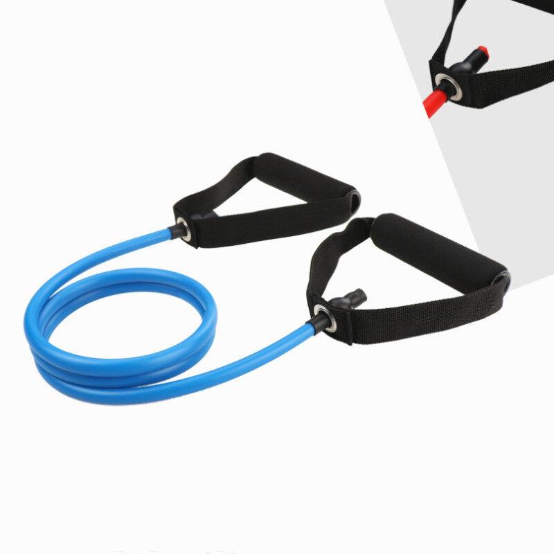 Yoga Pull Rope Elastic Resistance Bands Fitness Exercise Tube Practical Training Rubber Tensile Expander 15991945