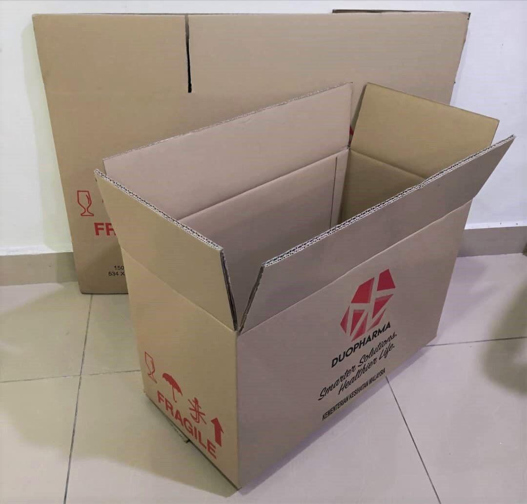 10pcs Printed Carton Boxes (L534 X W272 X H327mm)