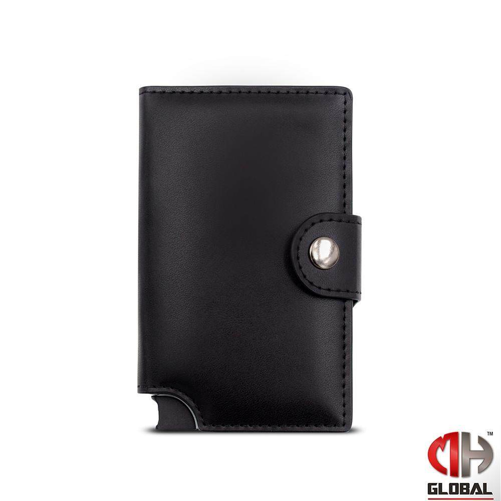 TECHGEAR Credit Card Holder RFID Blocking Wally Porto Leather