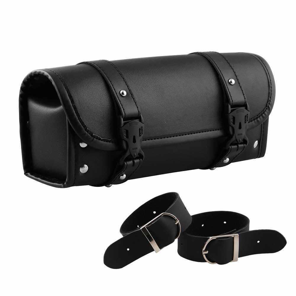 Motorcycle Kit Bag Motorcycle Utility Bag Motorcycle Side Bag Universal Black Motorcycle Tool Bag Front Fork Handlebar Saddlebag (Standard)