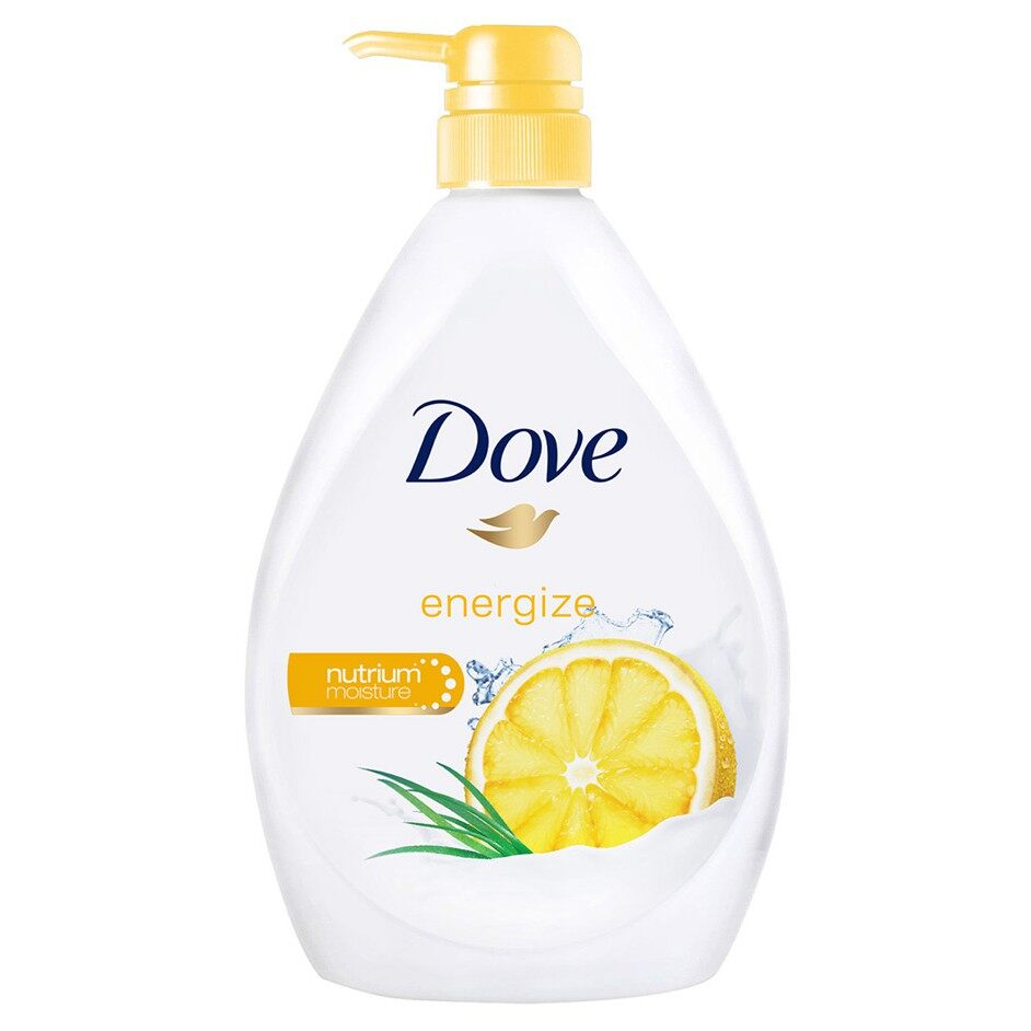 DOVE Go Fresh Energize Body Wash 1L