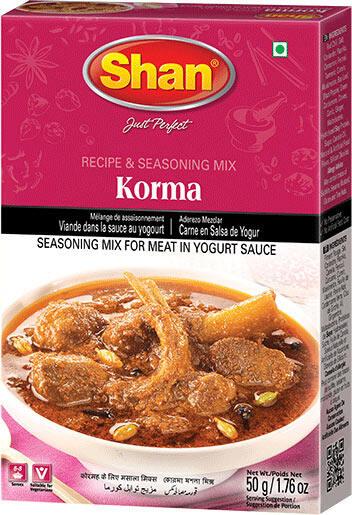 SHAN KORMA CURRY MASALA 50 GM