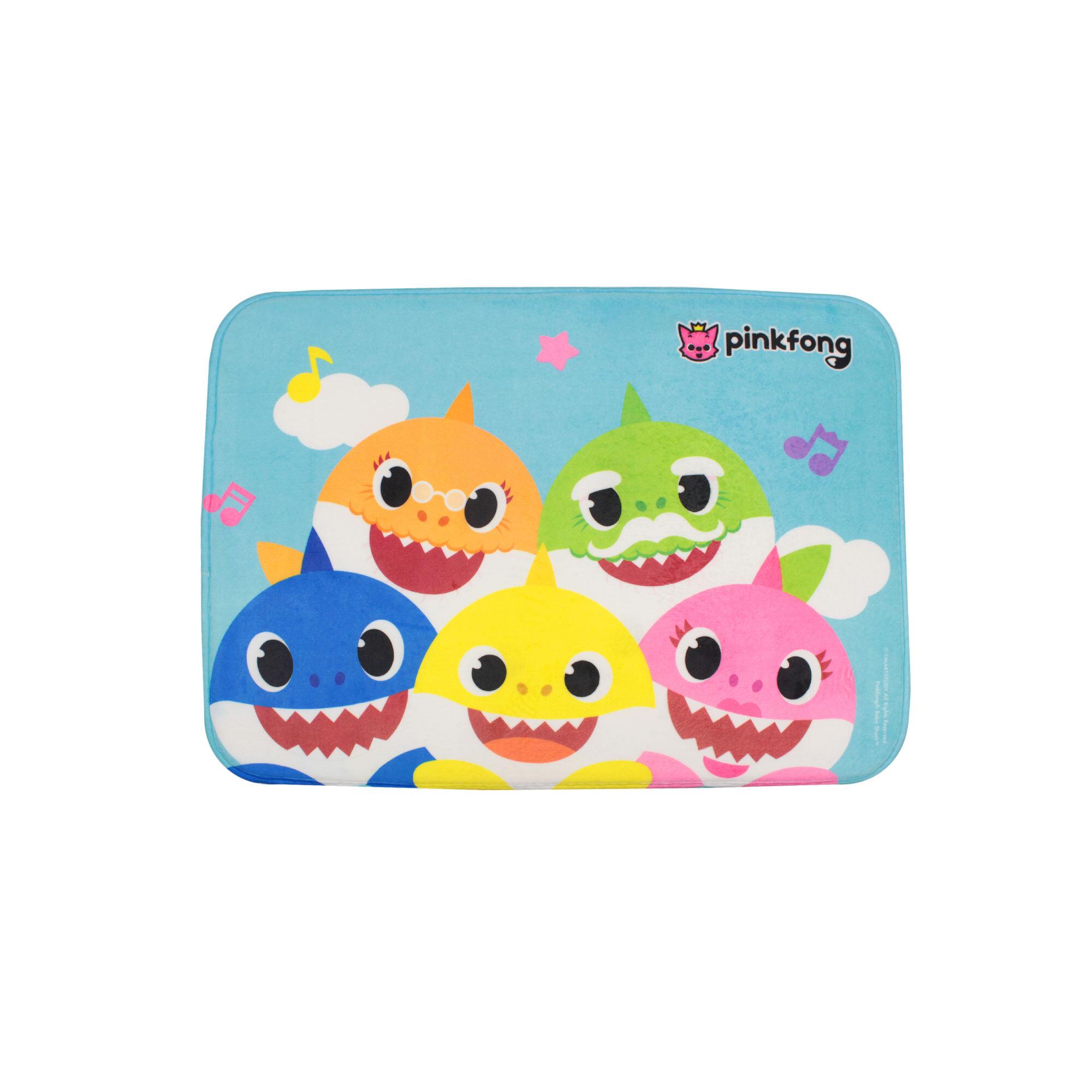 Pinkfong Baby Shark Family Children Floor Mat