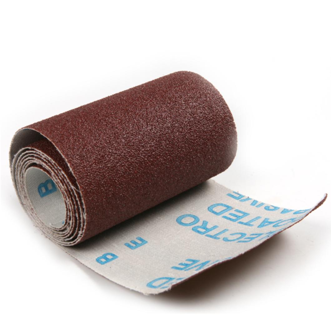 "Emery Cloth Roll Polishing Sandpaper Grinding Tools 4"" x 50M"