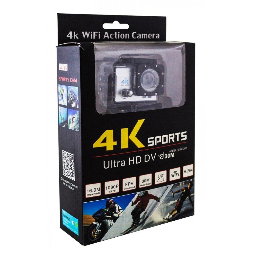 Ready Stock 4K Ultra HD 30M Waterproof Sports WiFi Action Camera DV DVR 2.0