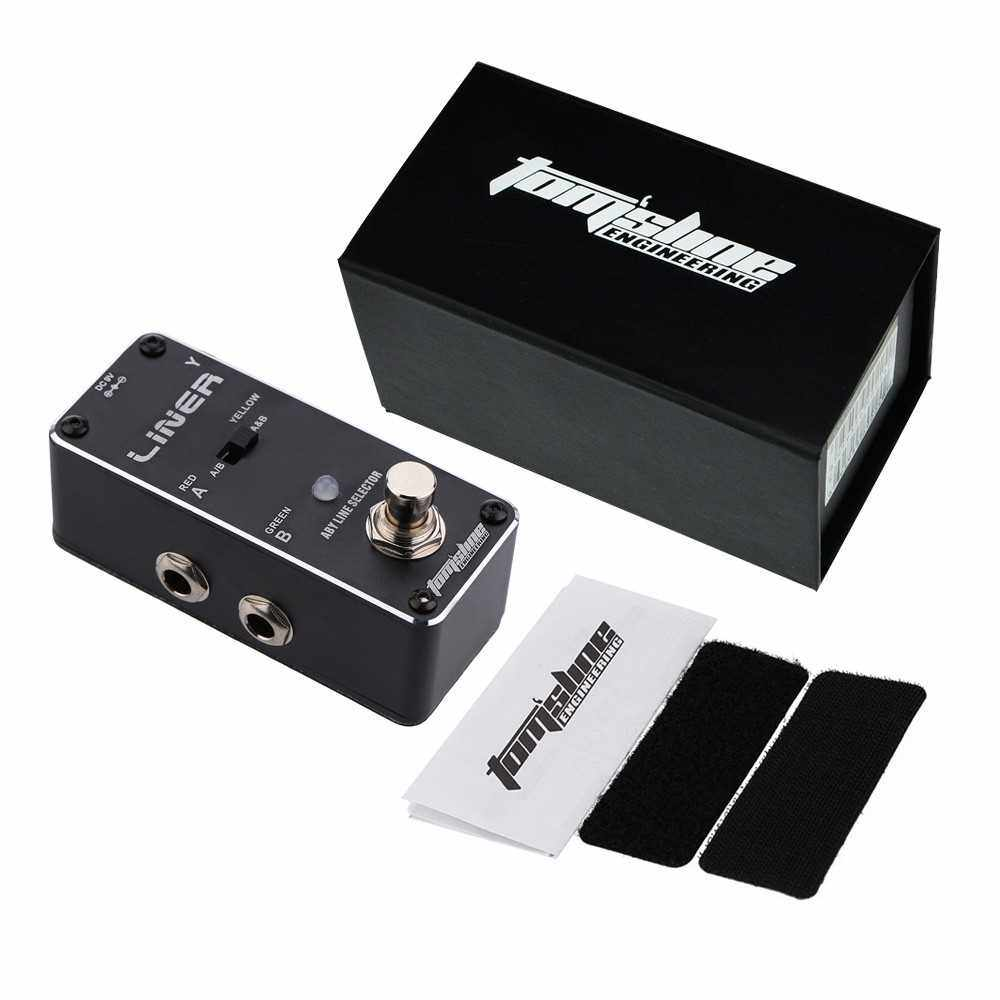 AROMA ALR-3 Liner Aby Line Selector Mini Electric Guitar Effect Pedal (Black)