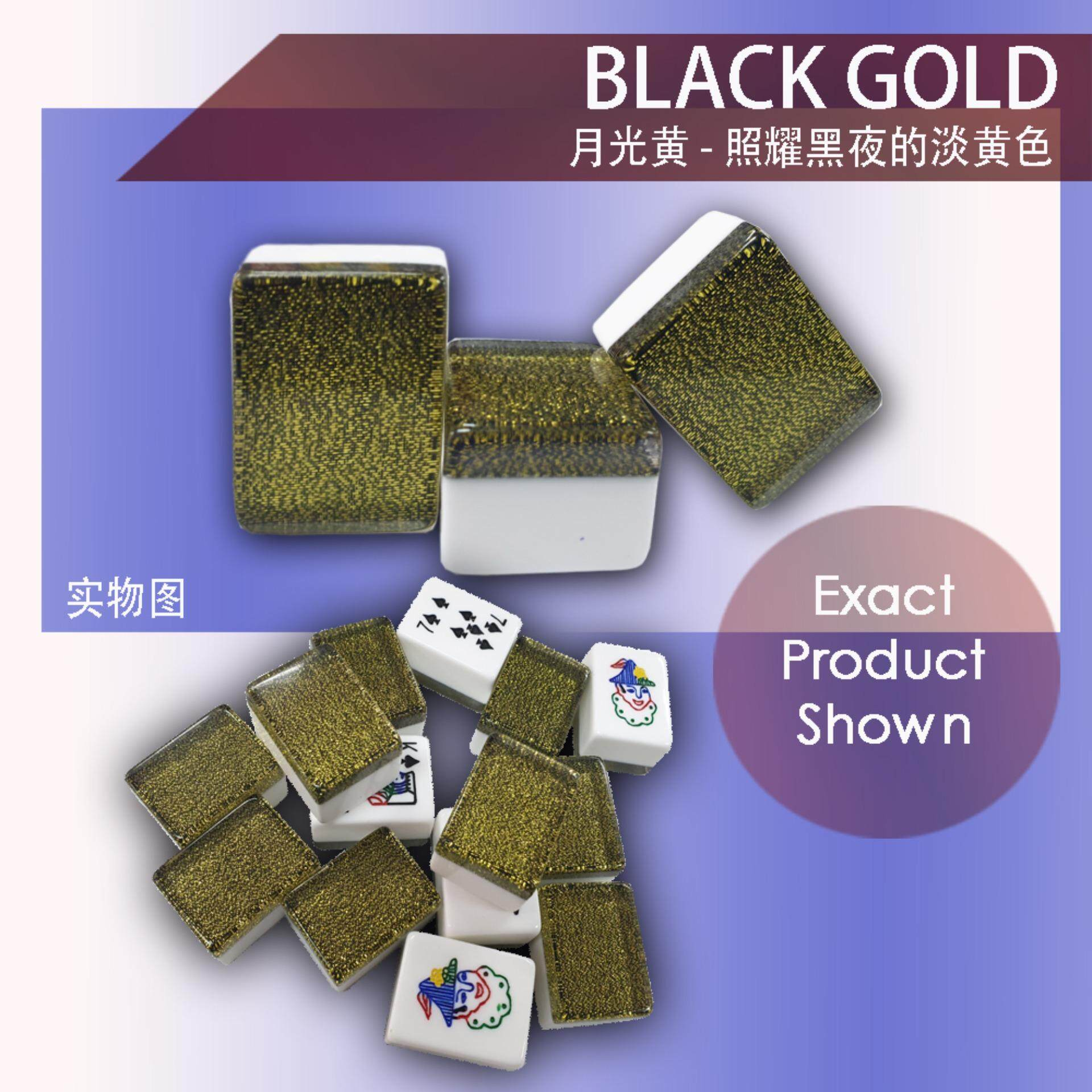 [Ready Stock] Rummy Mahjong Set Black Gold Edition [Fast Delivery]