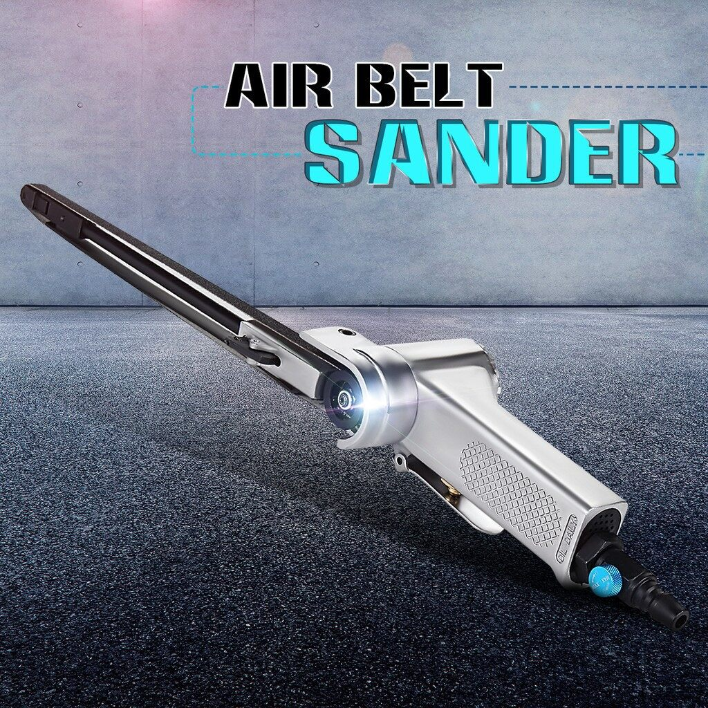 Automotive Tools & Equipment - Air Belt Sander Sanding for Buffing Assorted Vehicle Car Pneumatic tools - Car Replacement Parts