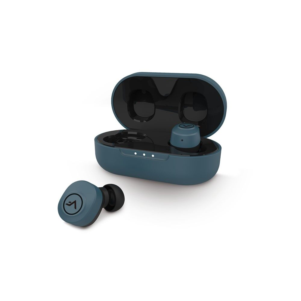 Vinnfier Earbuds Ture Wireless Momento 3 with Bluetooth 5.0, Answer Call, Voice Assistant, Volume Control, Ultra-long Play Time 6 Hours, Sweat proof,  Light & Powerful Sound