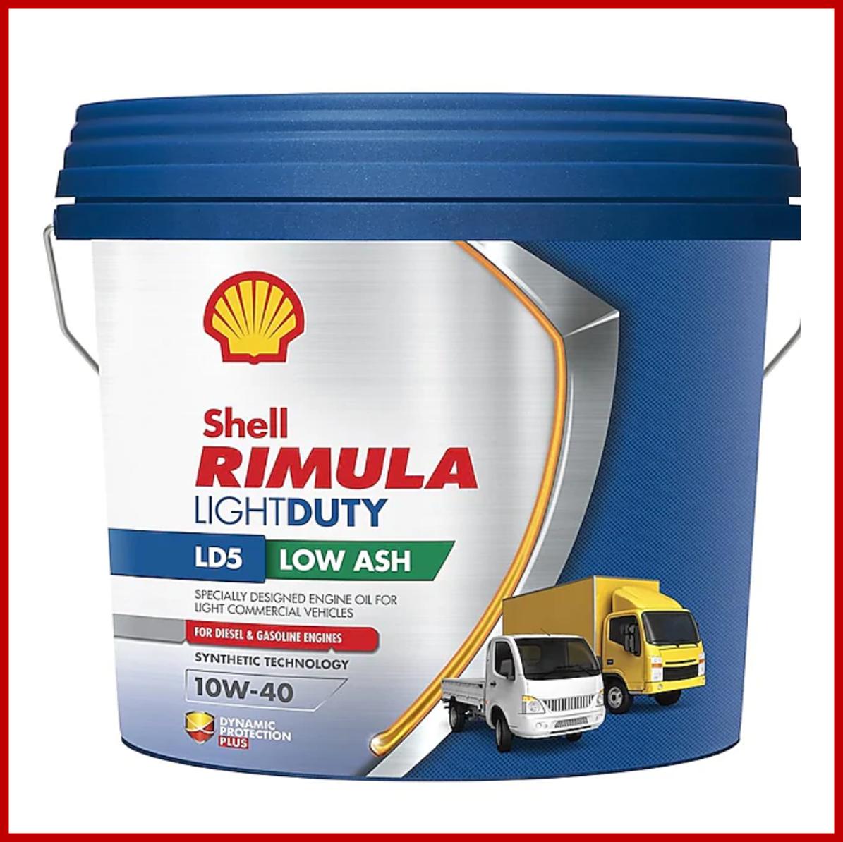 SHELL Rimula LD5 10W40 (7.5L)