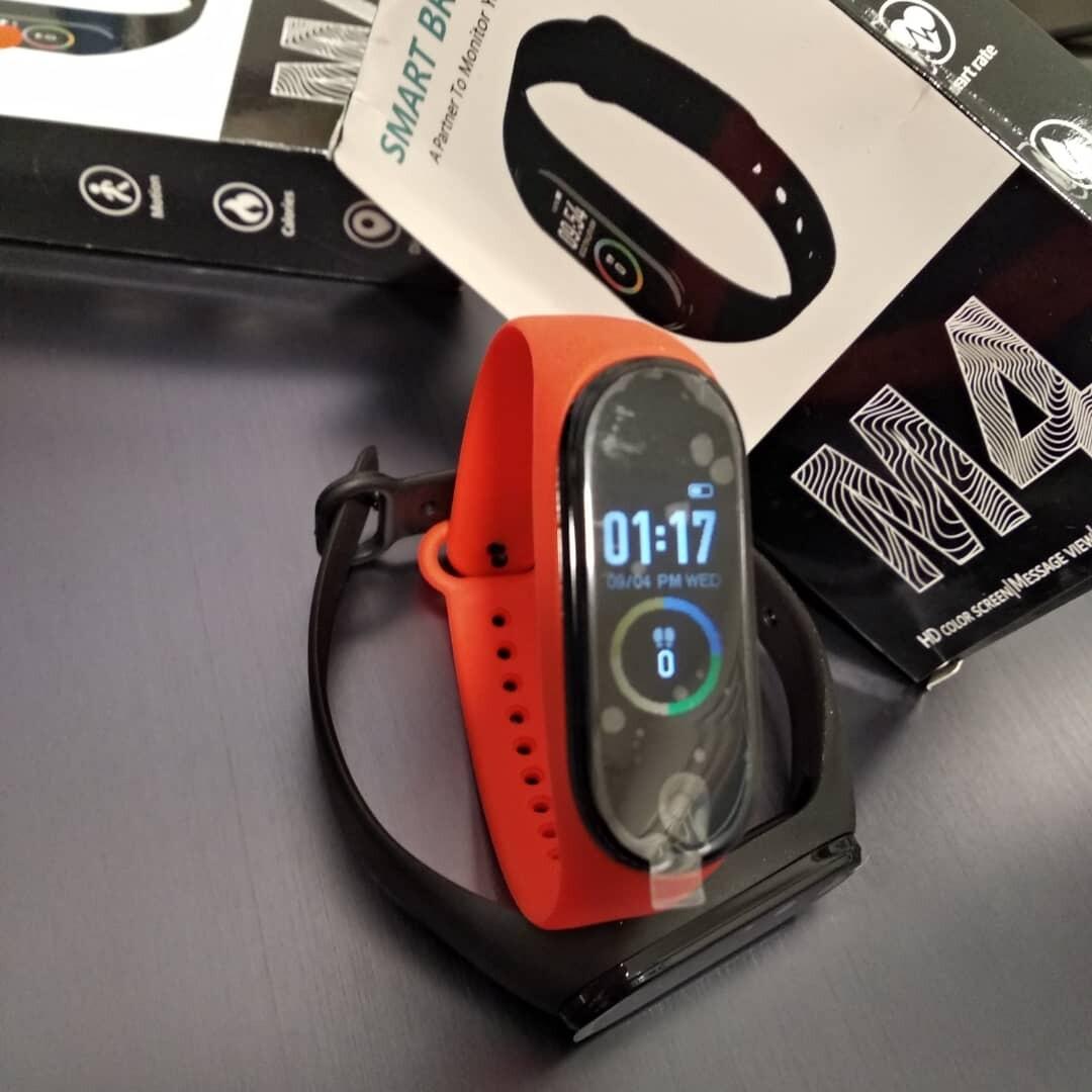 M4 Smart Band Wristband Heart rate/Blood/Pressure Monitor Sports Bracelet PK Mi Band 4 Fitness Tracker Digital Watch