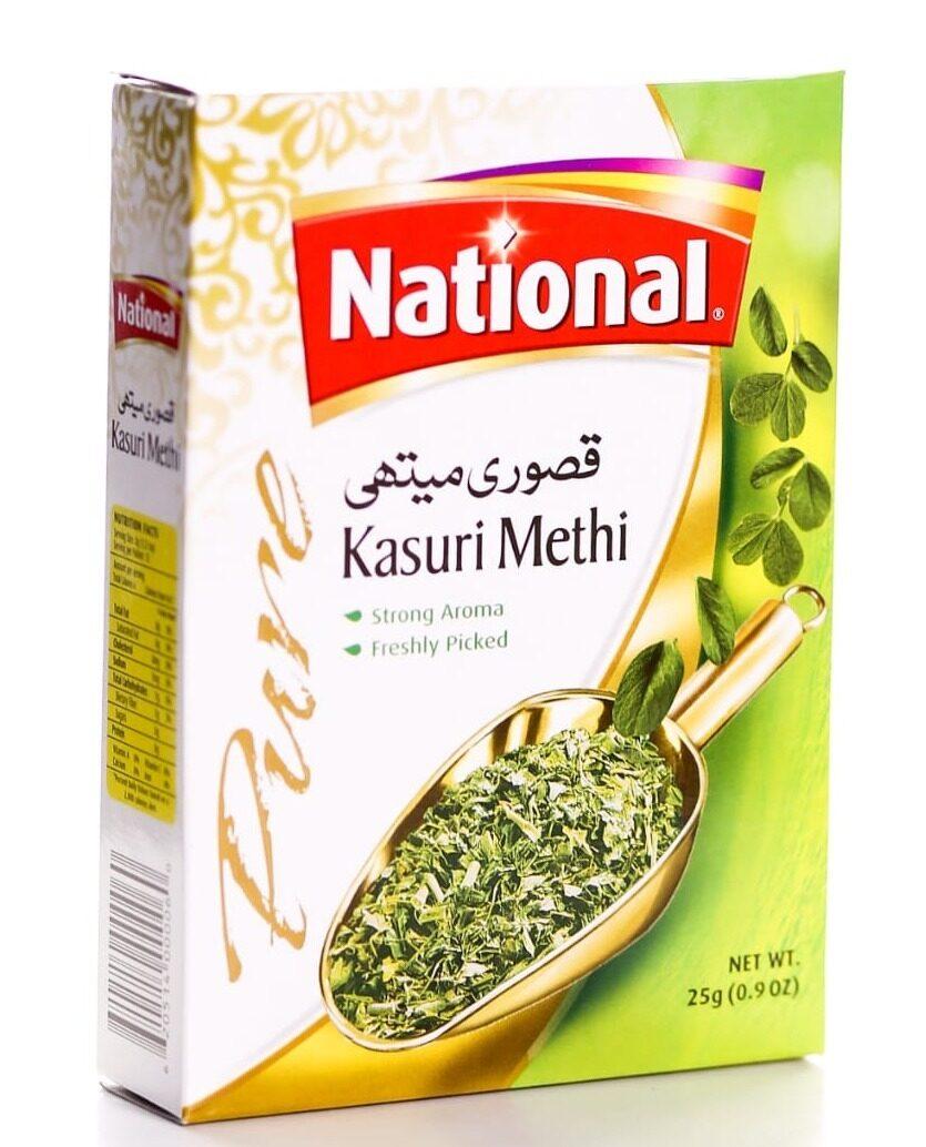 NATIONAL KASURI METHI 50 GM