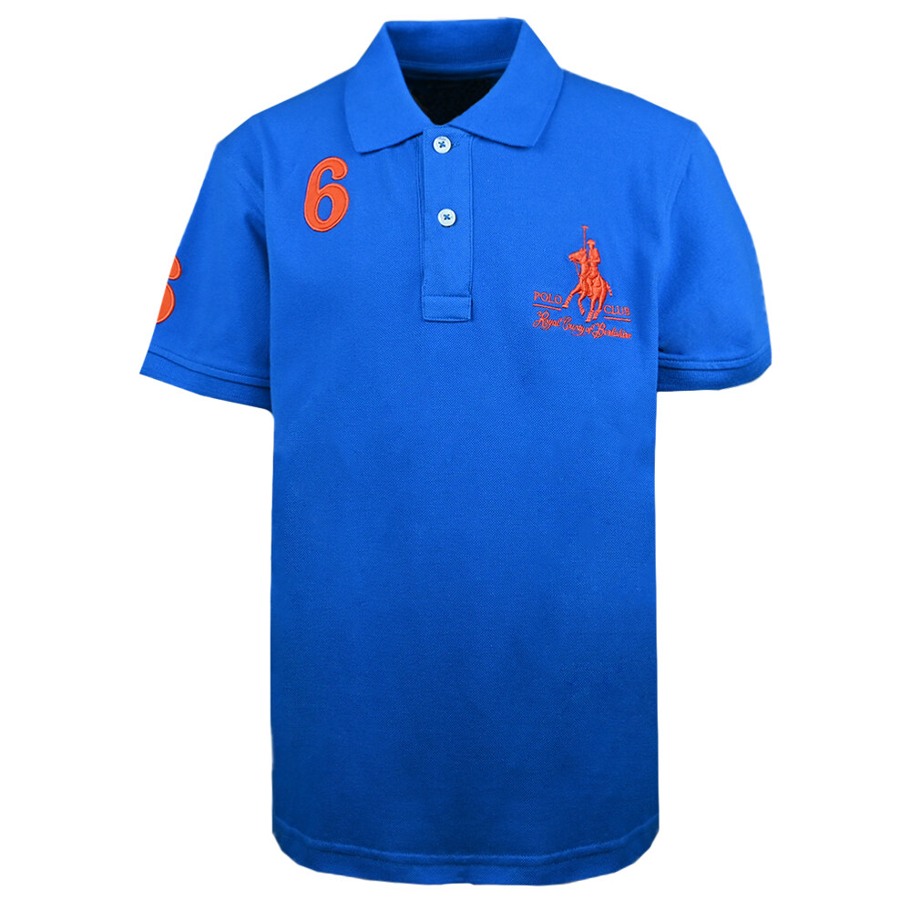 RCB POLO CLUB BOYS POLO TEE RBTS11095-BB OB7