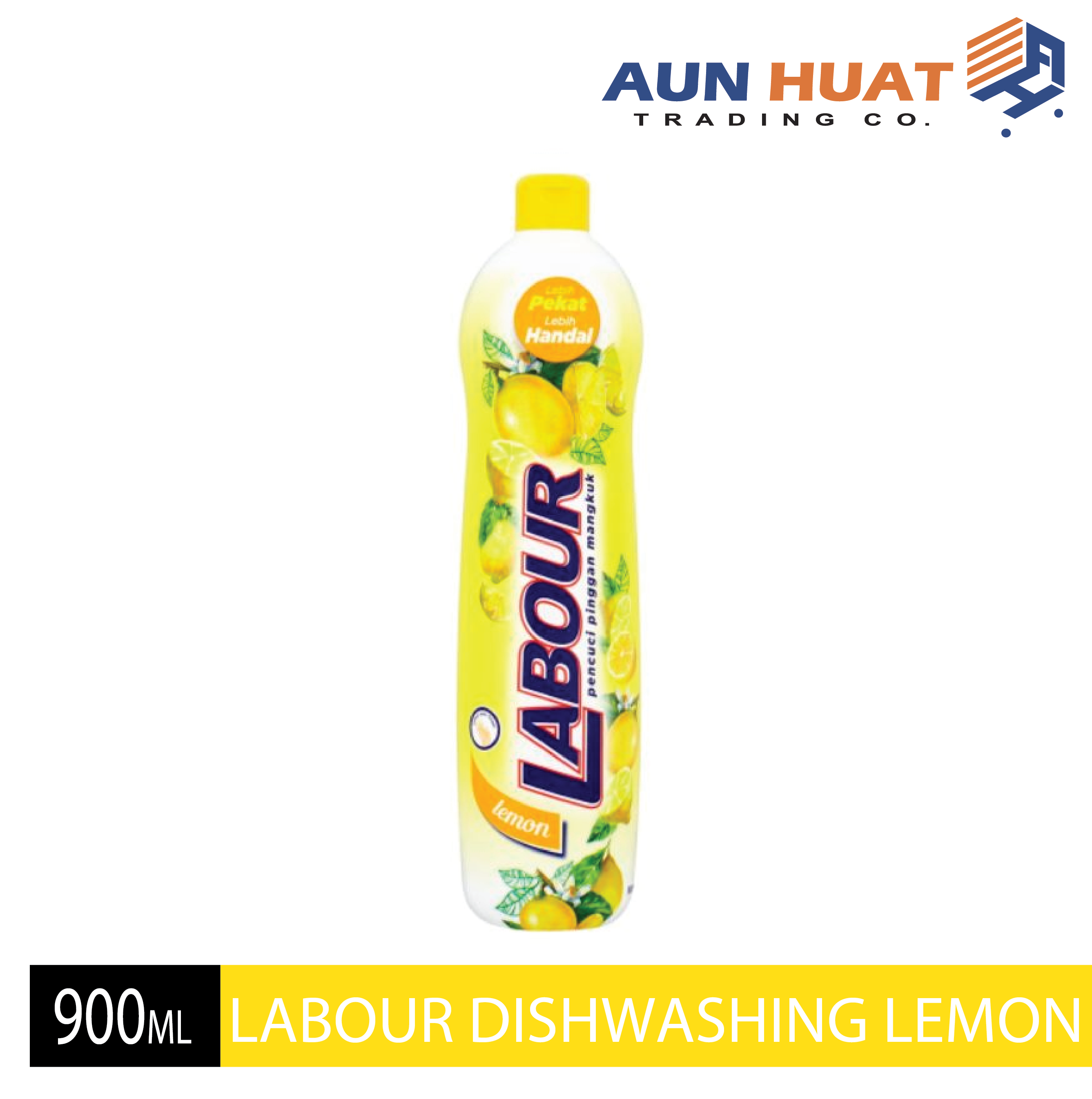 LABOUR DISHWASHING LIQUID LEMON 900ML
