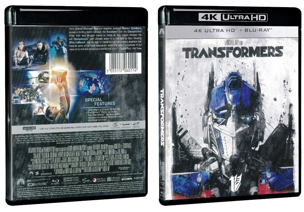 English Movie Transformers 4K Ultra HD + Blu-ray