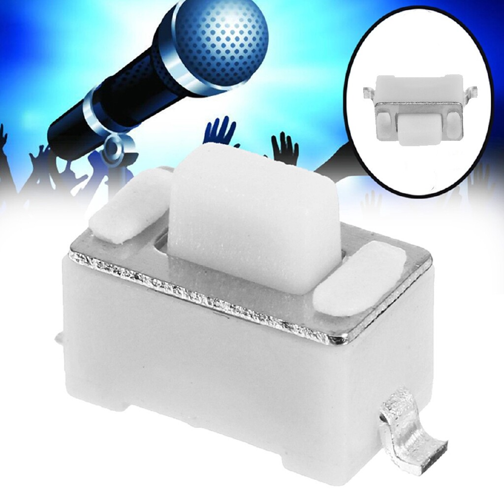 Microphones - Power/Mute Switch Button For Shure SLX4 SLX2 PGX4 PGX2 PG58 WIRELESS Microphone - Audio