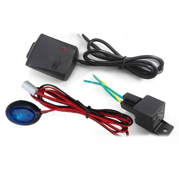 Automotive Tools & Equipment - Universal Car Alarm Automatic without Password Security Chip Central Locking - Car Replacement Parts