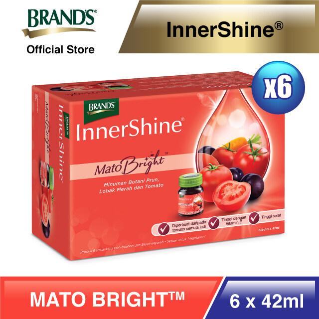 BRAND'S InnerShine Mato Bright 6's (42ml) x 6 packs - Total 36 bottles