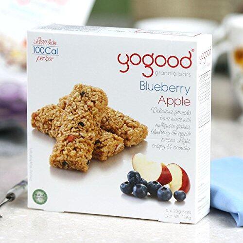 CEREAL Yogood Blueberry Apple granola Bars (138g) EURO SNACKS