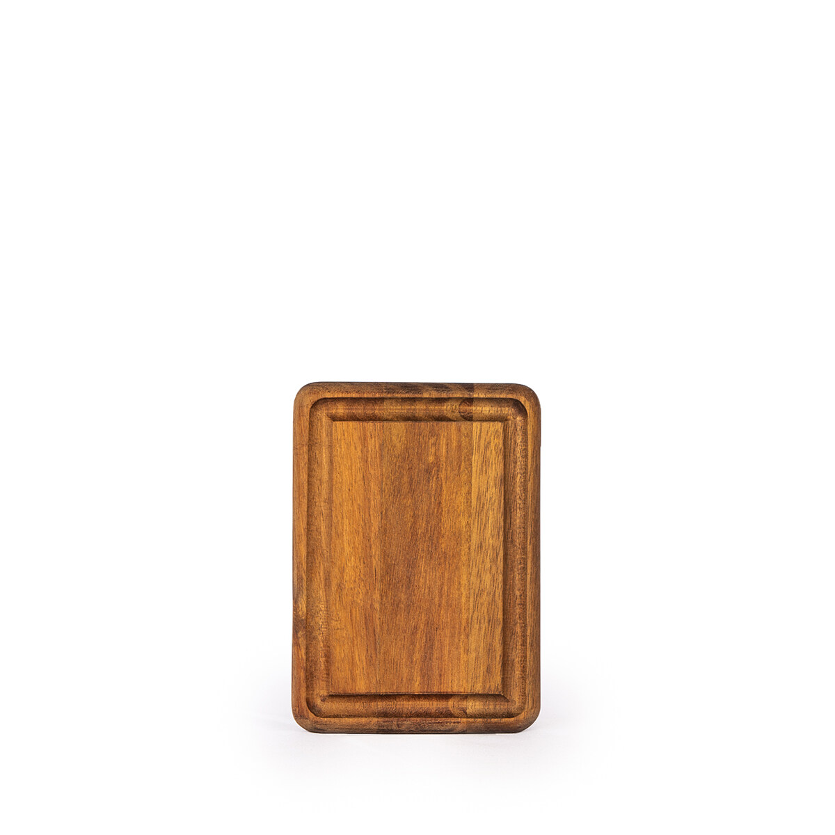 AIDEAS Cutting Board- YUMMY serving / chopping / wood / natural / platter / plate / acacia / dessert / coffee / dinner