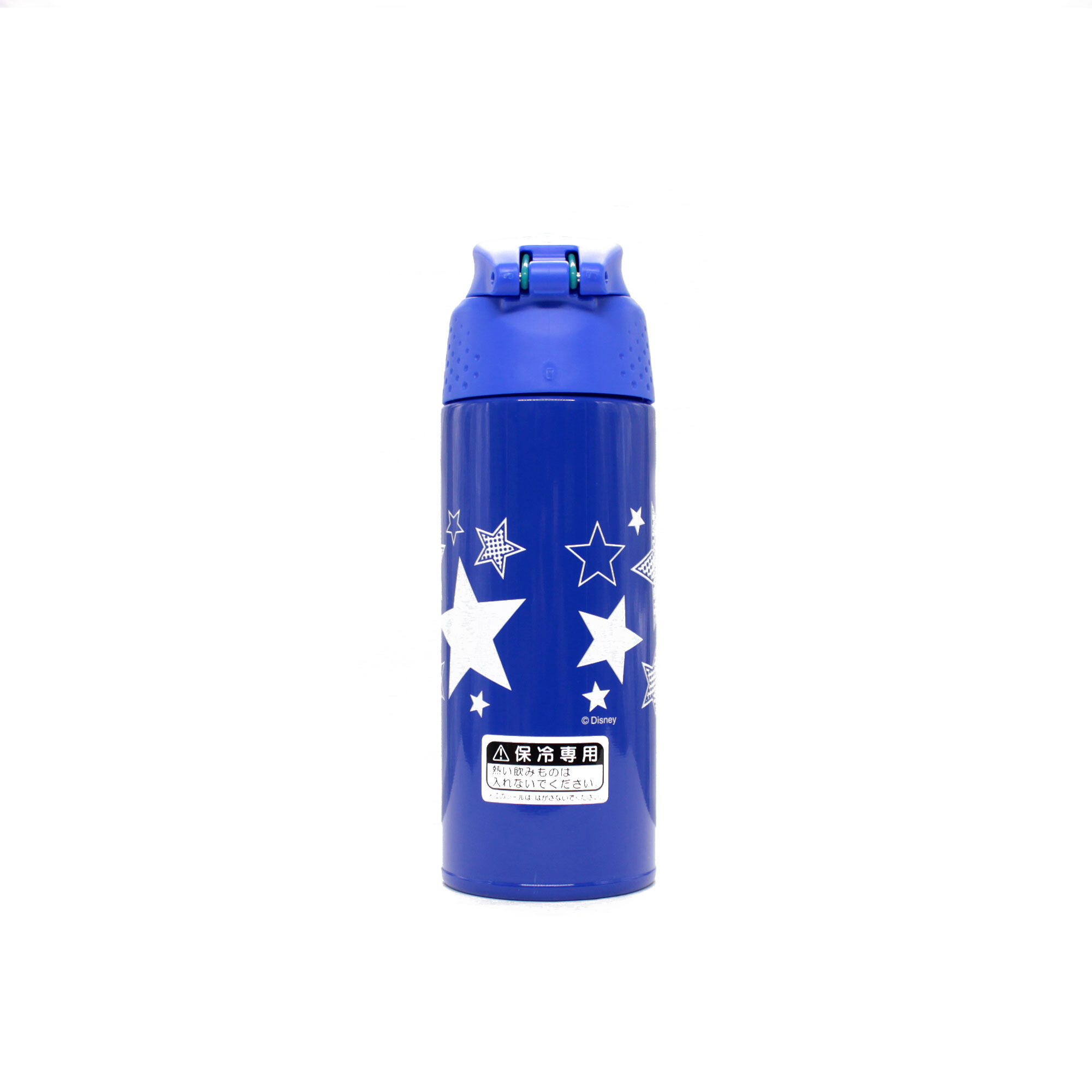Disney Mickey 500Ml Thermos Stainless Steel Sport Bottle With Pouch - Blue Colour