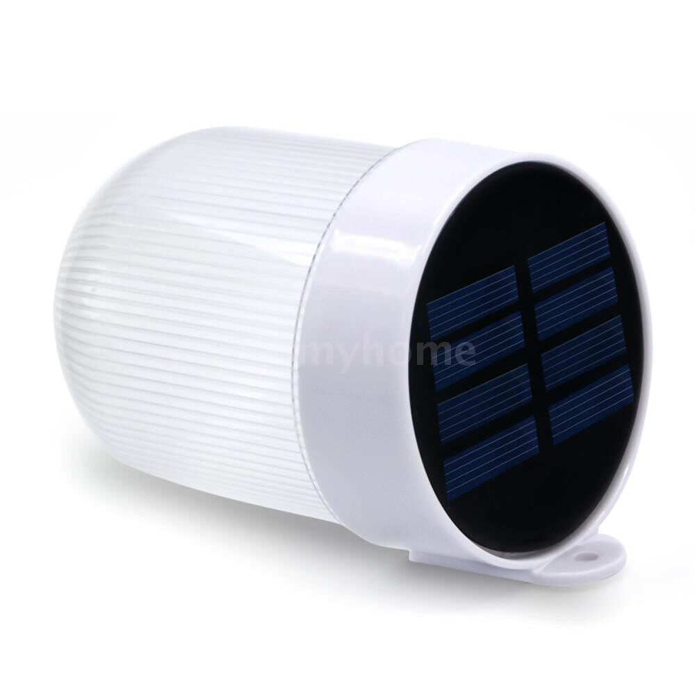 Outdoor Lighting - Solar Power Outdoor Rechargeable ABS Polysilicon Fence Garden Home Decoration Waterproof Wall - WHITE