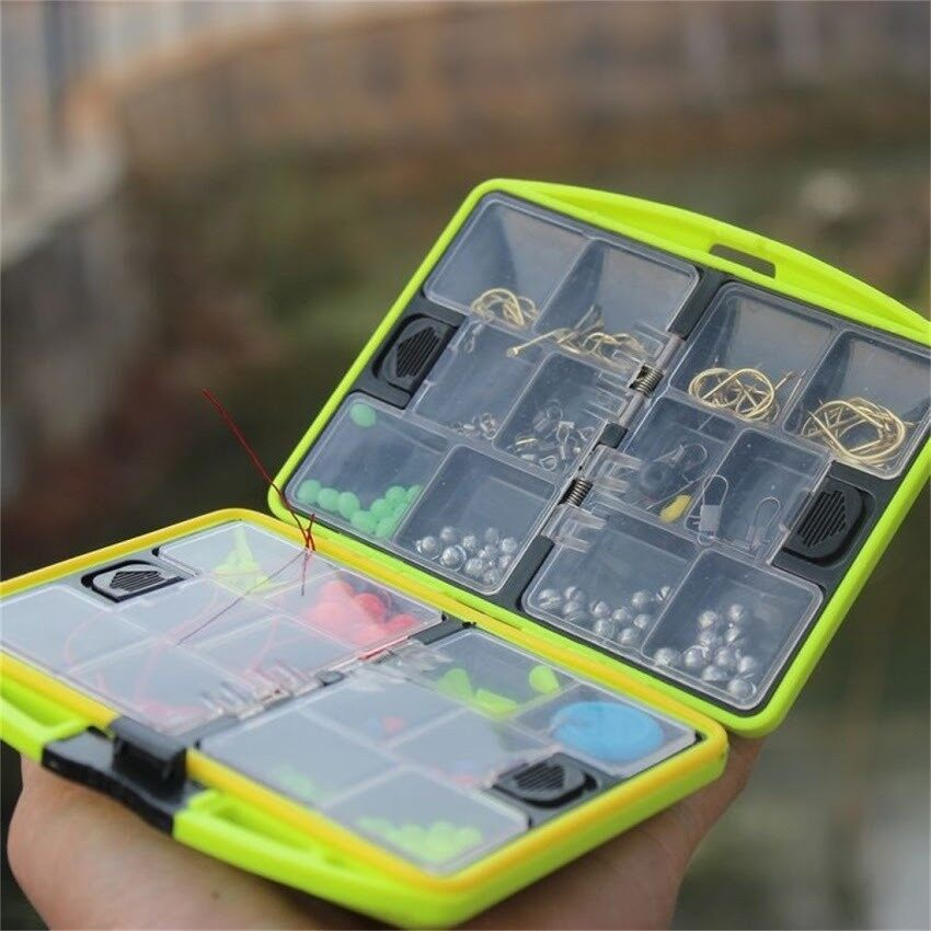 Lures & Flies - Lures Baits Head Hooks Fish Fishing Tackles Box - Fishing