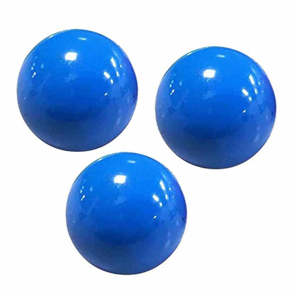 3Pcs Stick Wall Balls Sticky Ceiling Ball Target Ball Anti-stress Decompression Toy (Blue)