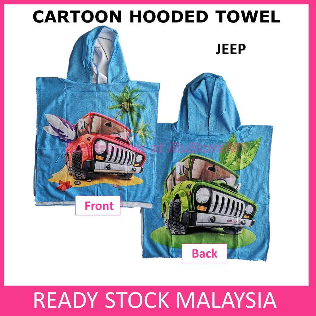 Cartoon Hooded Towel Beach Towel Kids Towel Beach Towel Children Boys Girl Poncho Bathrobe