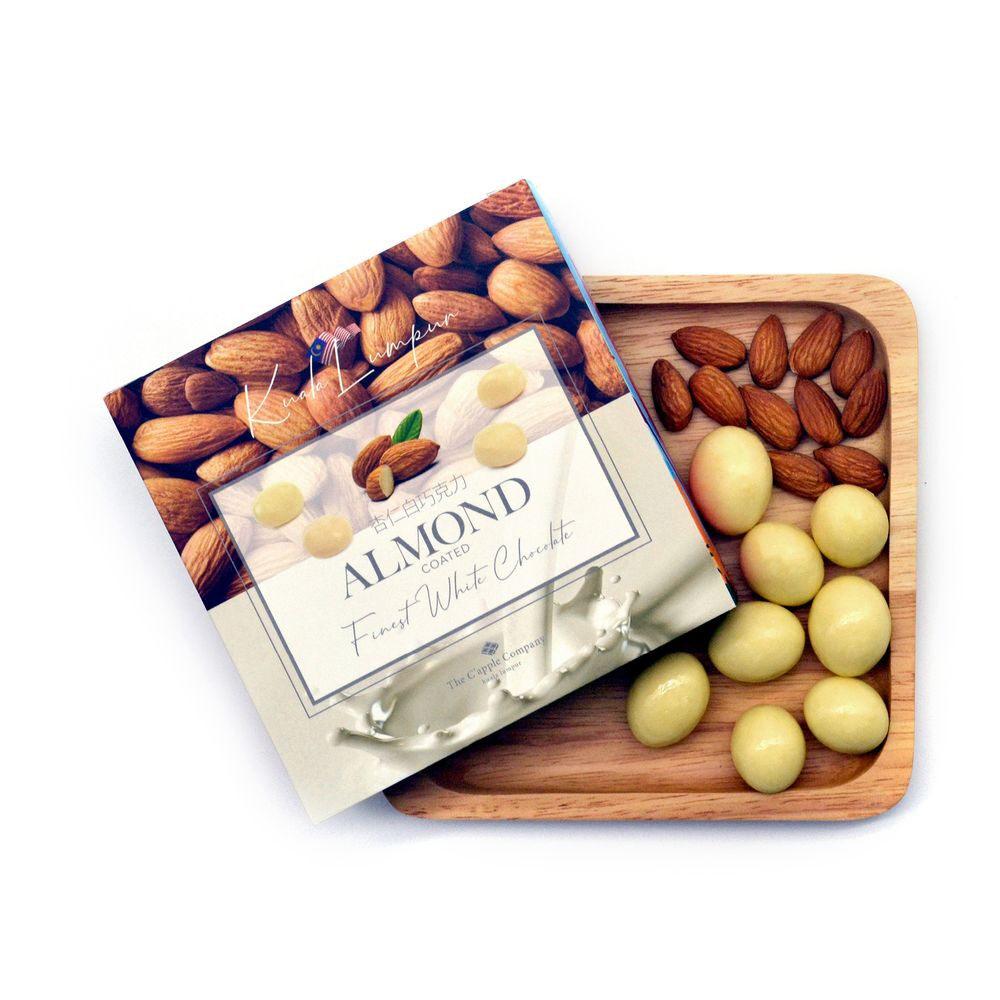 C'APPLE White Chocolate - Almond (100g)