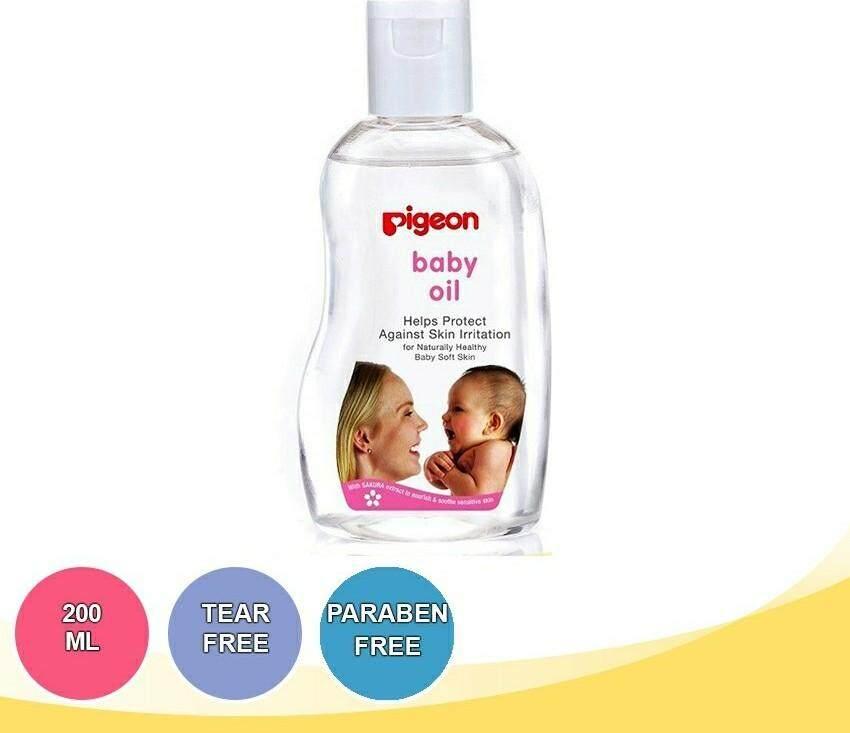 PIGEON Sakura Baby Oil (200ml) 08650 READY STOCK