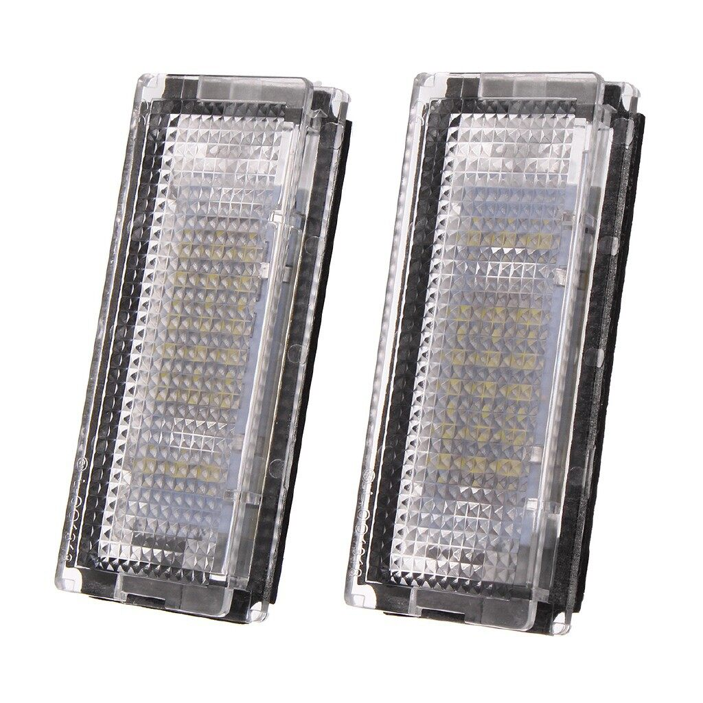 Car Lights - Error Free LED License Number Plate Light Lamp Canbus For BMW E46 1998-2005 - Replacement Parts
