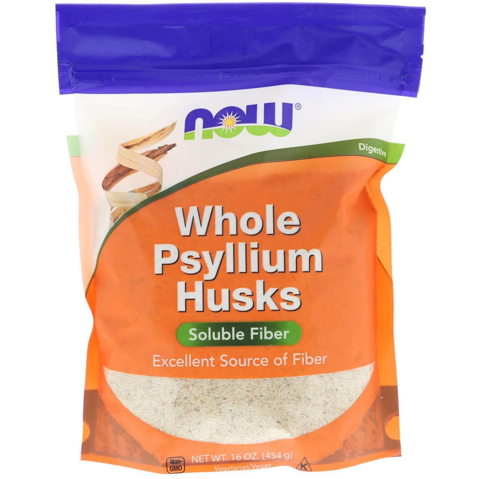 Now Foods, Whole Psyllium Husks (454 g)