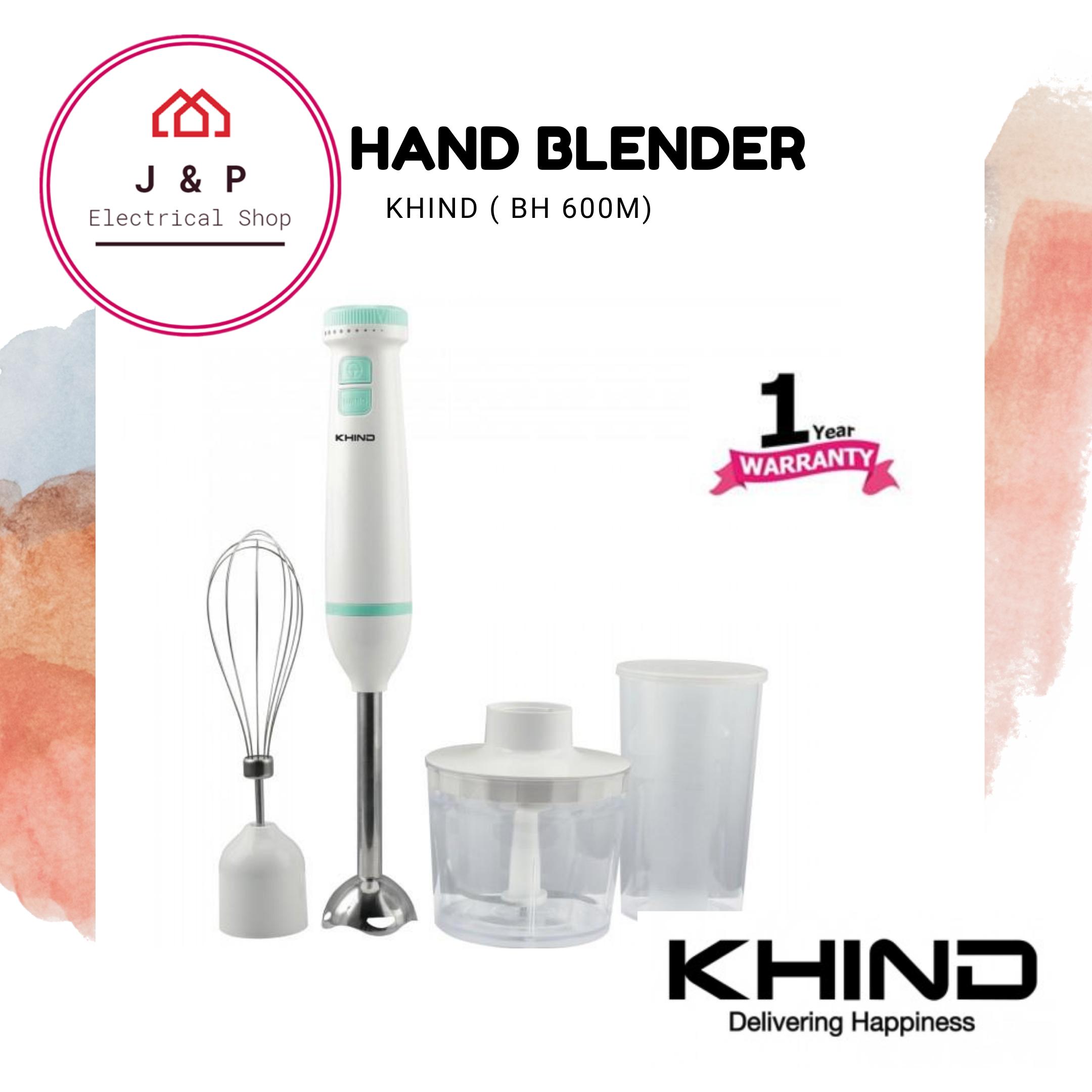KHIND Hand Blender 手持式搅拌机 (BH600M)  [ READY STOCK 现货]1355330610-1597853838988-0