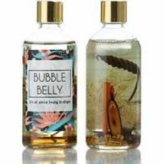 BUBBLE BELLY OIL MASSAGE BODY