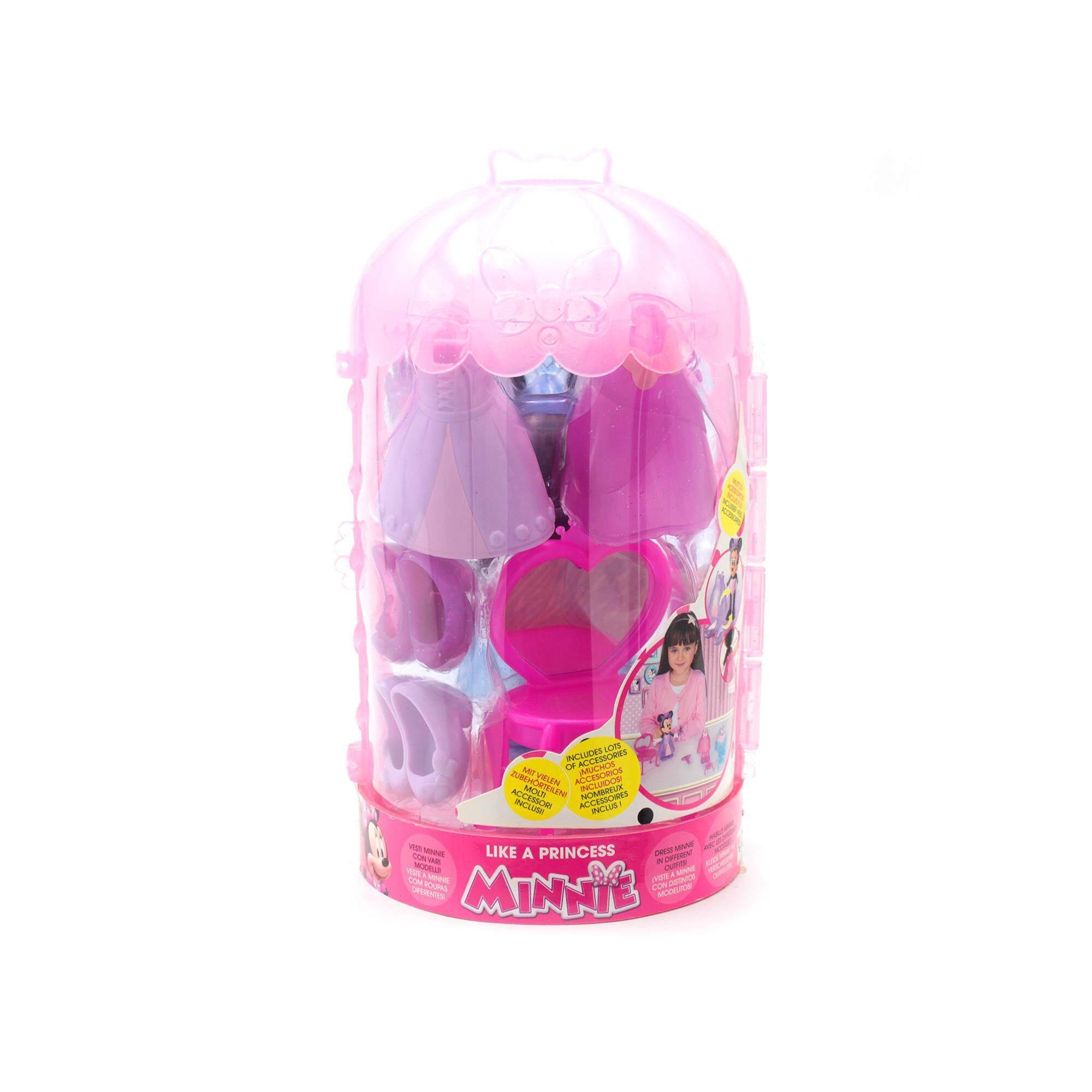 Disney Minnie Hard Toys With Accessories - Like A Princess