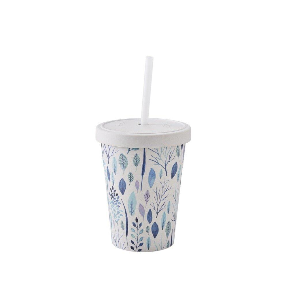 [My Cooking Story / MyCookingStory] GO Green Cold Drink Tumbler With Straw