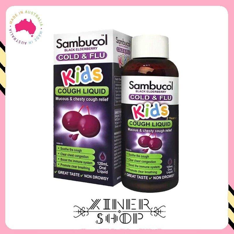 [Pre Order] Sambucol Kids Cold & Flu Cough Liquid ( 120ml )(Made In Australia)