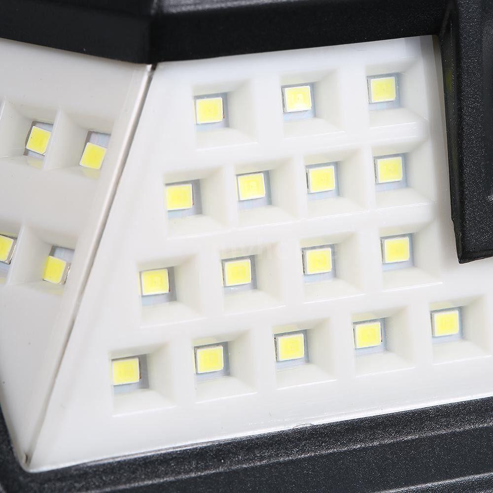 Outdoor Lighting - 44 LEDs Solar Power PIR Motion Sensor Wall Light Outdoor Yard Garden Lamp Waterproof - #