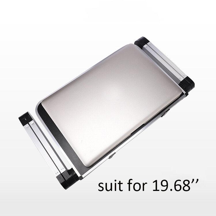 Aluminum Alloy Laptop Portable Foldable Adjustable Laptop Desk Computer Table Stand Tray Notebook PC Folding Desk Table
