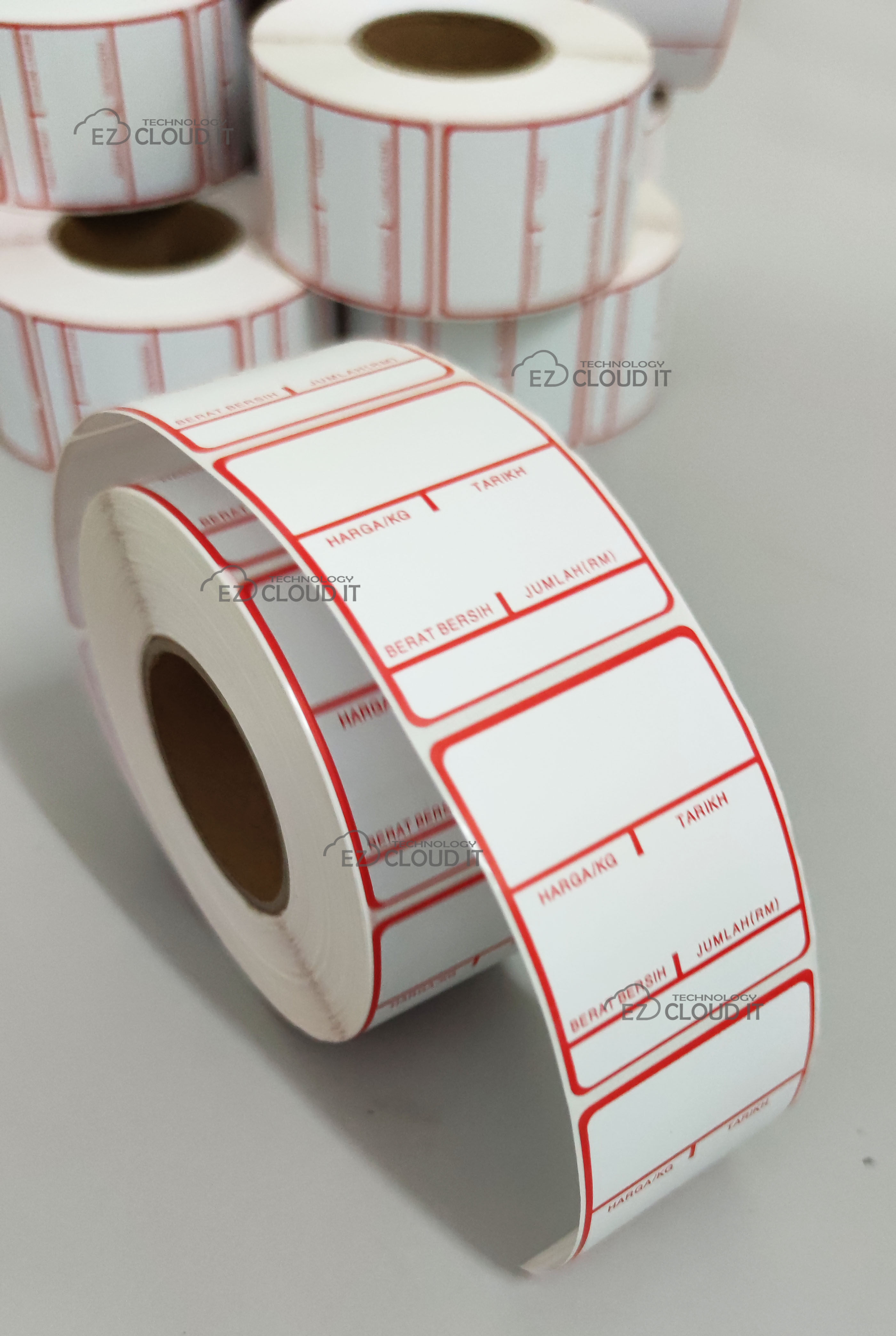 Thermal weighing scale label barcode label anti alcohol /water/scratch