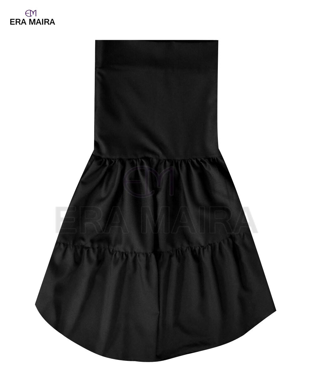 Long double pleated skirt for women - Mela
