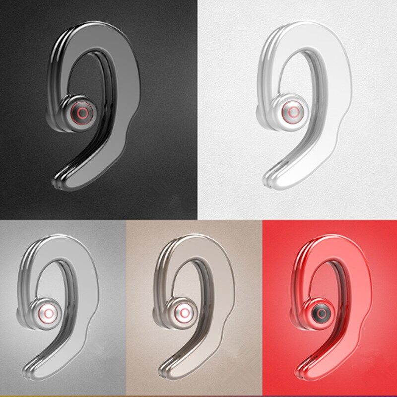 On-Ear Headphones - S2 Bone Conduction Earhooks Dual BLUETOOTH Earphone Stereo Headphone - BLACK / RED / SKIN / WHITE / GREY