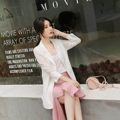 (Pre Order14 Days JYS Fashion Korean Style Women Blazer Collection 525a- 7591col525a-7591--White -S