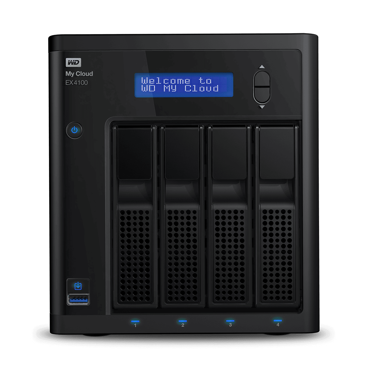 WD Western Digital My Cloud Expert Series EX4100 NAS / Cloud Storage 0TB/ 8TB/ 16TB/ 24TB/ 32TB , Network-attached storage