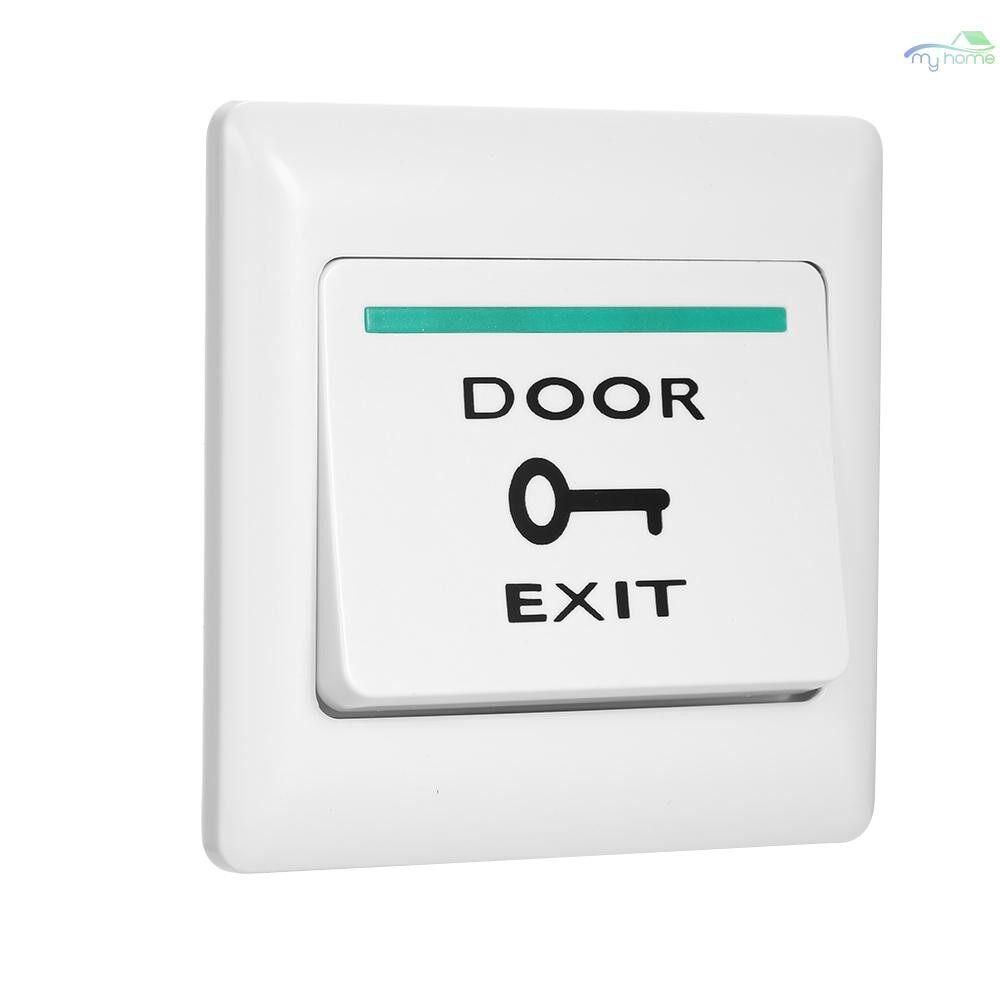 Sensors & Alarms - Door Exit Button Release Push Switch for Electronic Door Lock NO COM Lock Sensor Access Control - WHITE