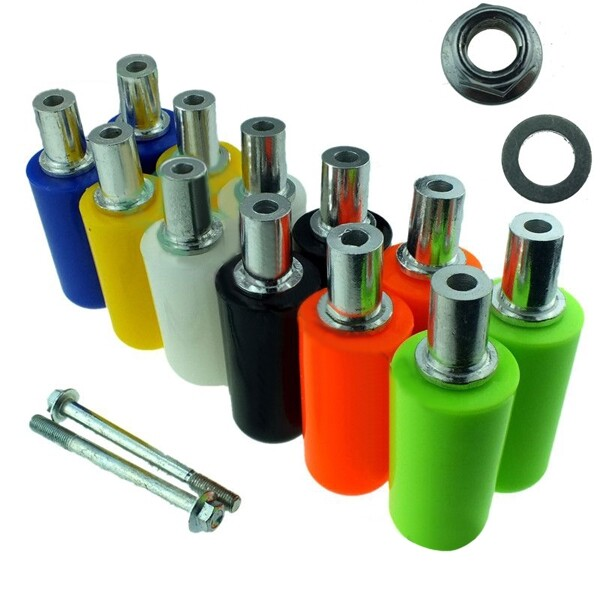 Moto Accessories - Motorcycle Large Displacement GM Modified Queen Lengthened Drop Resistance - RED / BLUE / BLACK / YELLOW / ORANGE / WHITE / GREEN