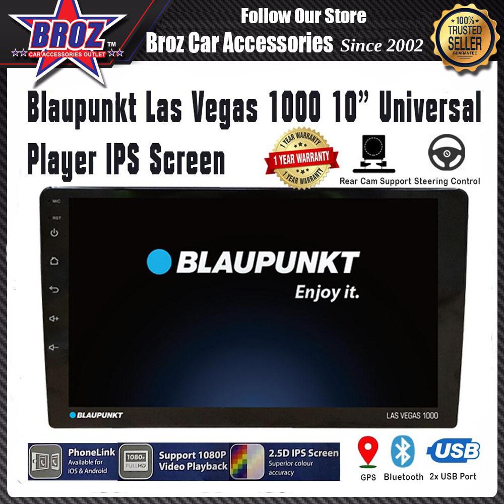 Blaupunkt Las Vegas 1000 10 inch Universal Player Full HD Multimedia Head Unit Radio GPS Bluetooth USB AUX IPS Touch Screen USB iOS Android PhoneLink