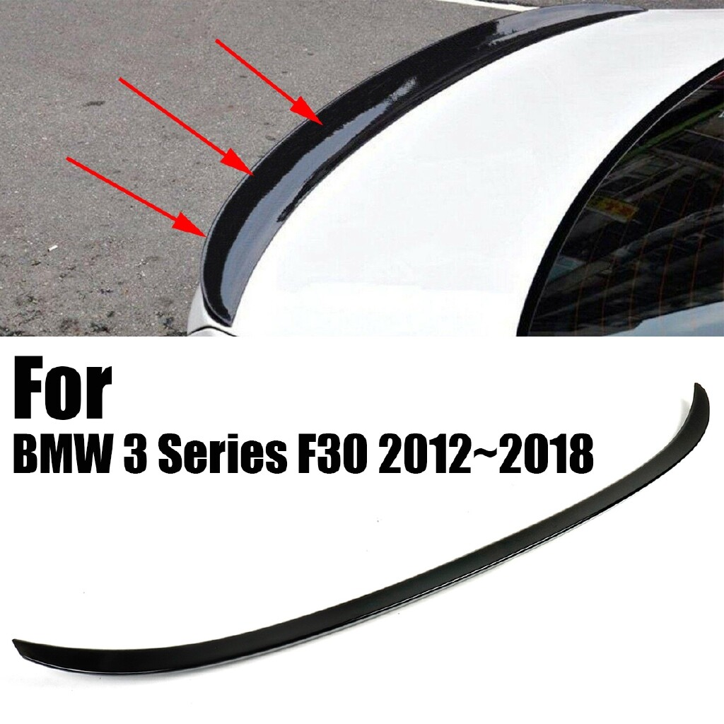 Automotive Tools & Equipment - Gloss Black ABS Rear Trunk Boot Spoiler For BMW 3 Series F30 M3 Style 2012 - Car Replacement Parts